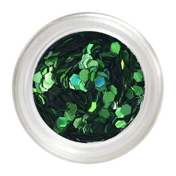 Small green nail art flitter