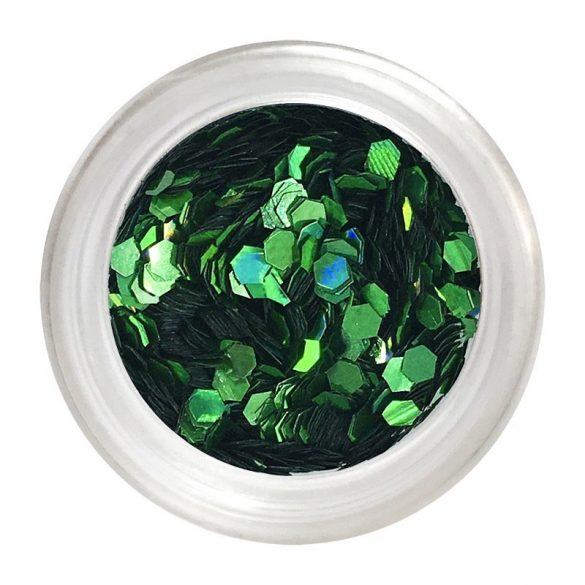 Small green nail art flitter