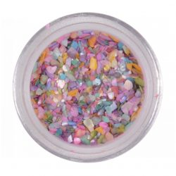 Crushed shell - multicolor