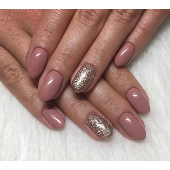 Gel Nail Polish 4ml - DN101 - Glittering Gold - Gel Polish
