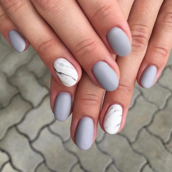 Gel Nail Polish 4ml - DN057 -Silver Pearl - Gel Polish