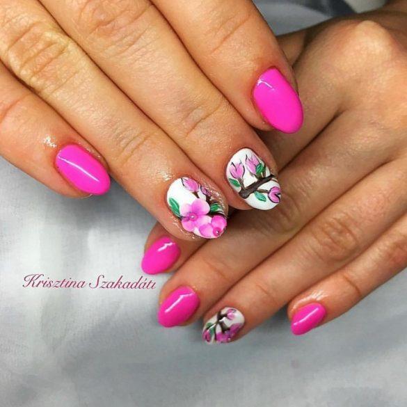 Gel Nail Polish 4ml - DN090 - Pink Vibe - Gel Polish