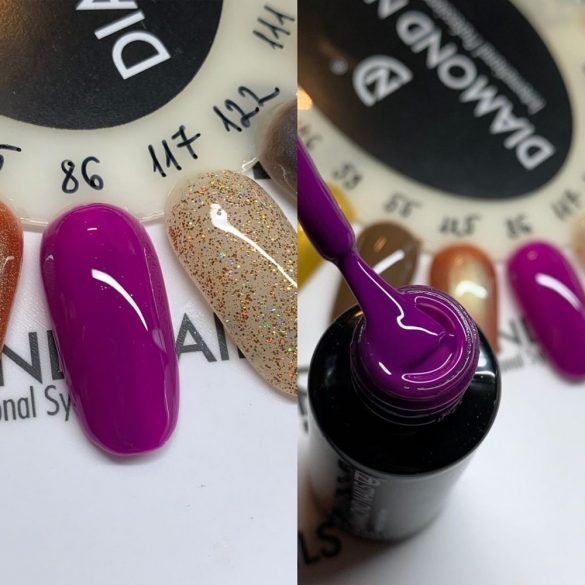 Gel Nail Polish 4ml - DN086 - Purple - Gel Polish