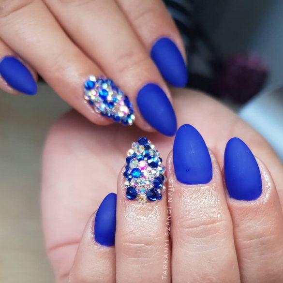 Gel Nail Polish 4ml - DN081 - Royal Blue (Metallic) - Gel Polish