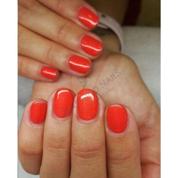 Gel Nail Polish 4ml - DN137 - Glittering grapefruit - Gel Polish
