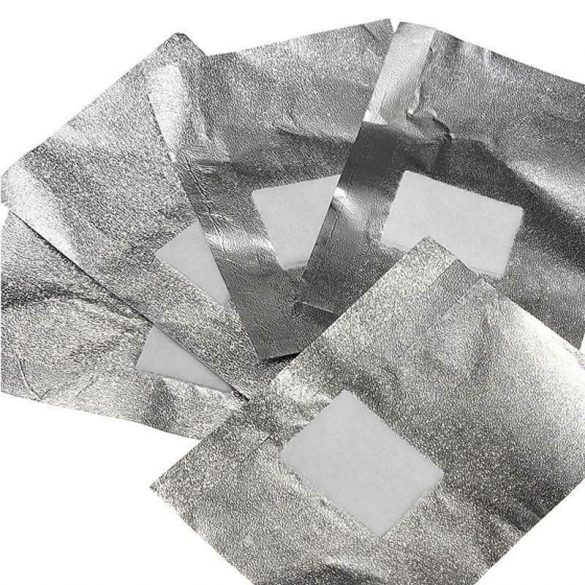 Gel Polish Removal Foil Wraps Pad 10pcs