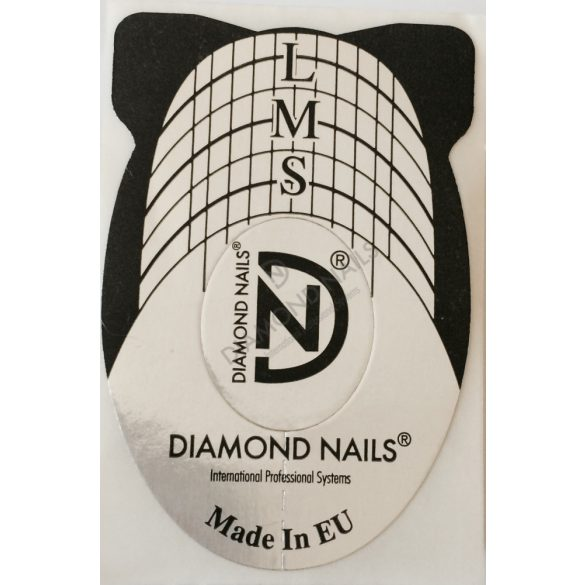 500 Nail Forms, Black and White
