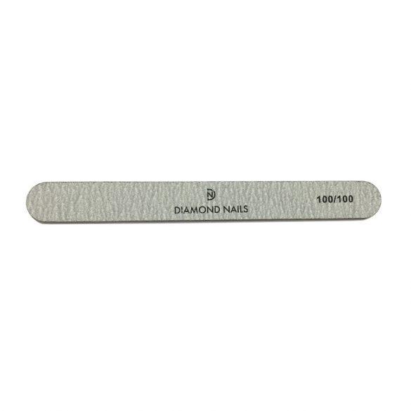 Straight Nail File - Grey 100/100