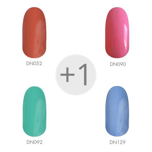Gel Nail Polish - Spring Colors I. Set 4+1 pcs