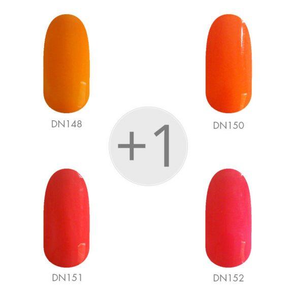 Gel Nail Polish - Summer Colors Set 4+1 pcs