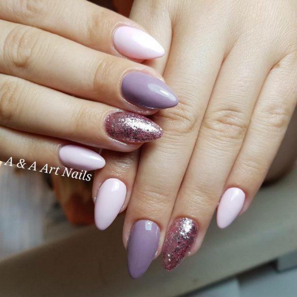 Gel Nail Polish 4ml - DN187 - Lavender- Gel Polish