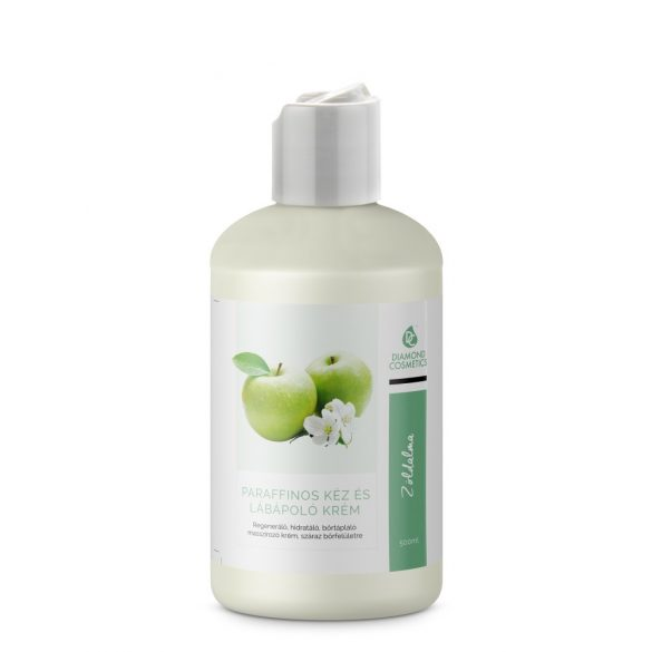 Hand and foot cream - Paraffin- Green apple 500ml