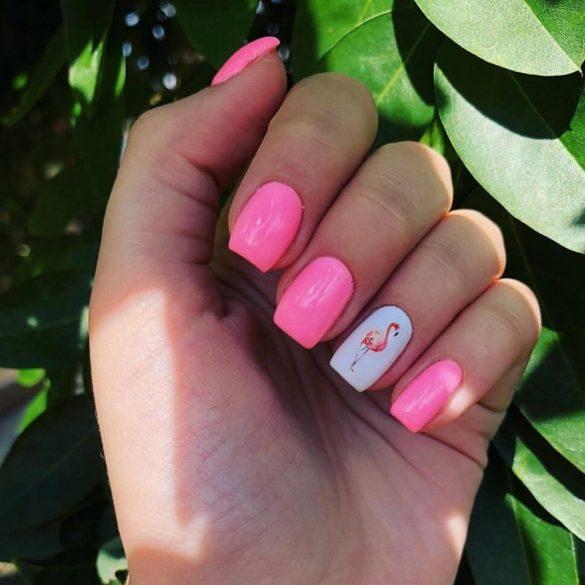 Gel Nail Polish 4ml - DN210 -  Cotton Candy - Gel Polish