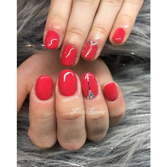 Gel Nail Polish 4ml - DN215 -  Strawberry - Gel Polish