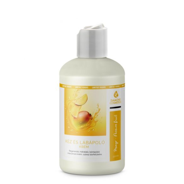 Hand and foot cream Mango-Passion fruit  500ml