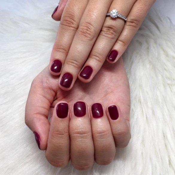 Gel Nail Polish 4ml - DN245 - Deluxe Cherry - Gel Polish