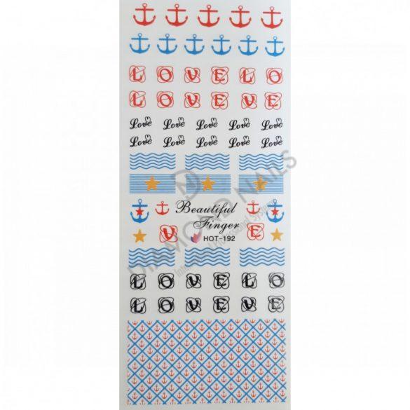 Nail art summer stickers - HOT192