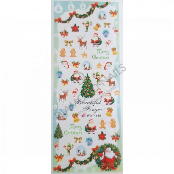 Nail art Christmas stickers- HOT198