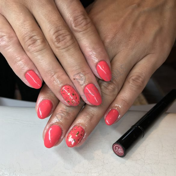 One Step Gel Pen - OS16 - Strawberry Pink