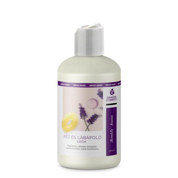 Hand and foot cream - Lavender and pineapple 500ml