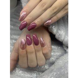 Gel Nail Polish - 4 ml DN252 - Red Grape - Gel Polish