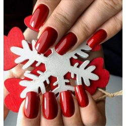 Gel Nail Polish - 4 ml DN255 - Christmas Miracle - Gel Polish