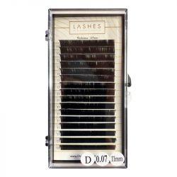 Volume Lash Extensions (L: 11mm; T: 0,07mm)