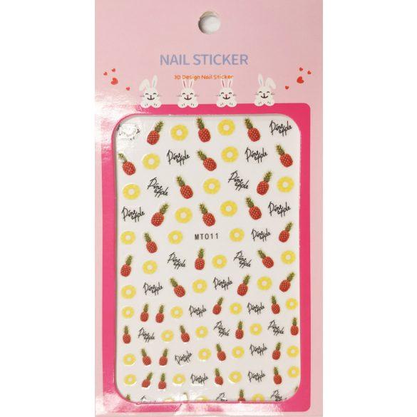 Nail art Pineapple stickers- MT011