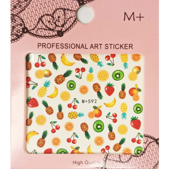 Nail art Summer Fruit stickers- MP592