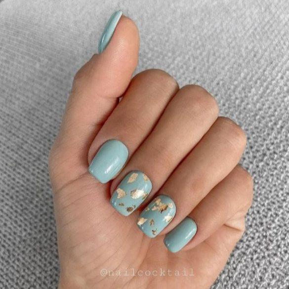 Gel Nail Polish - DN274 - Light Aquamarine
