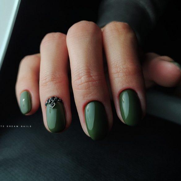 Gel Nail Polish - DN276 - Military Green