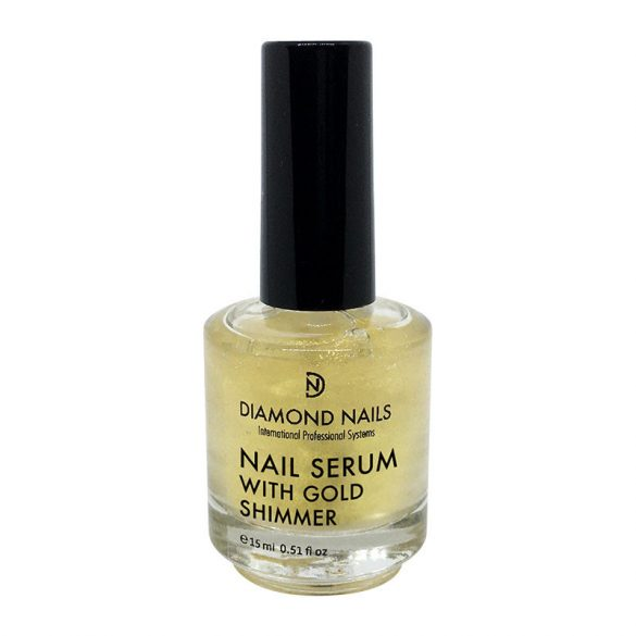 Nail Serum with Gold Shimmer - 15ml