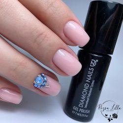 Gel Polish Base - Rubber Base - Honey Peach 15ml