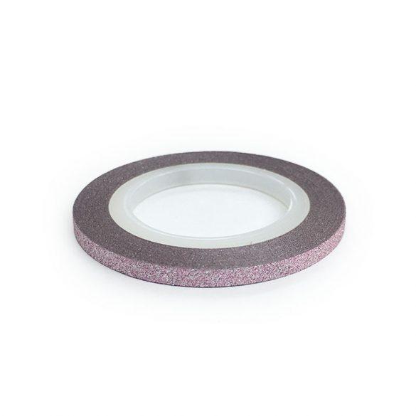 Nail Art Stripe Stickers - Matte Shimmering Light Pink (3mm)