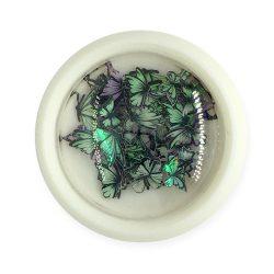 Nail Art Holographic Butterflies - 002
