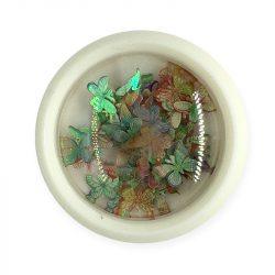 Nail Art Holographic Butterflies - 003