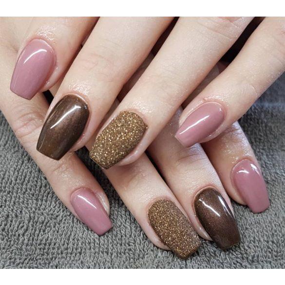 Gel Nail Polish 4ml - DN029 -Dark Brown (Pearl) - Gel Polish