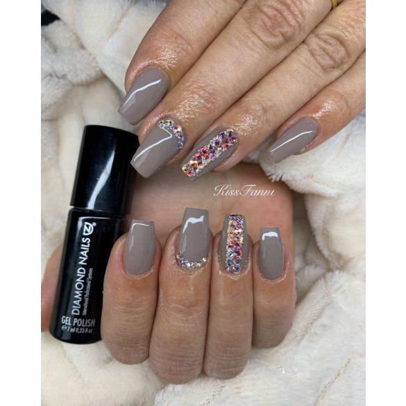 Gel Nail Polish 4ml - DN034 - Grey nude - Gel Polish