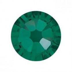 Emerald rhinestones, 20pcs