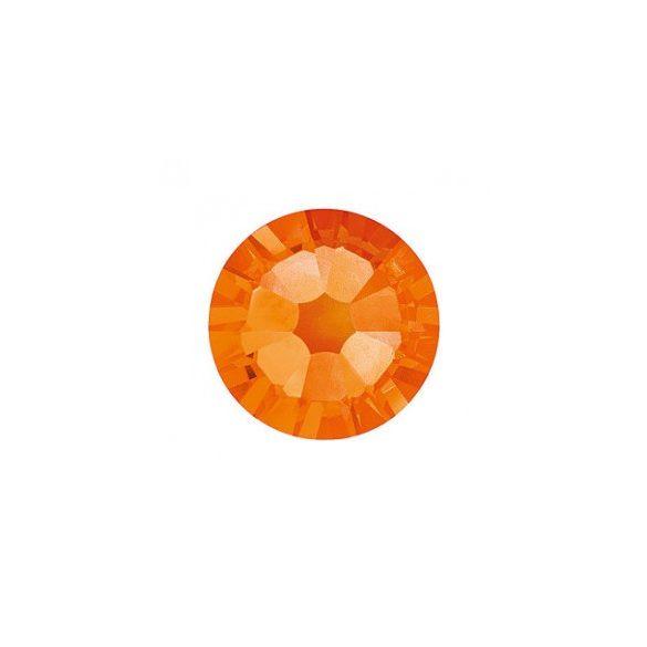 Orange Rhinestones, 100pcs