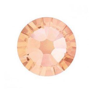Light Peach Rhinestones, 50pcs