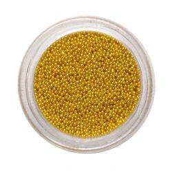 Gold Nail Art Beads