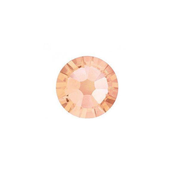 Large Light Peach Rhinestones, 100pcs