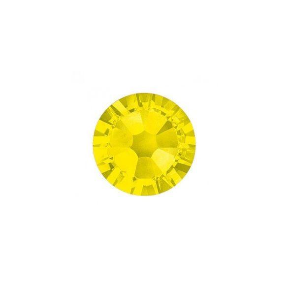 Yellow Rhinestones, 100pcs
