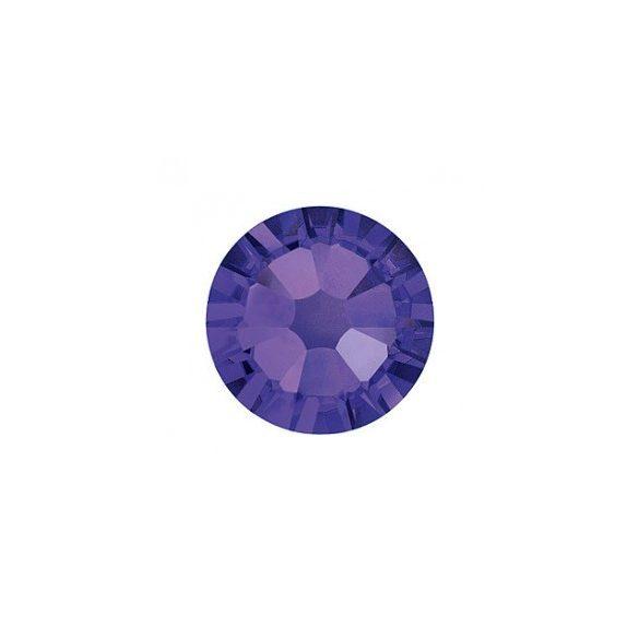Large Dark Violet Rhinestones, 100pcs