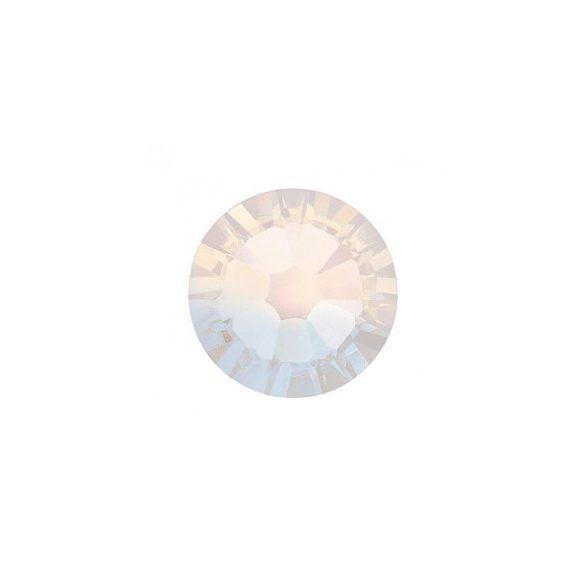 White Opal Rhinestones, 100pcs
